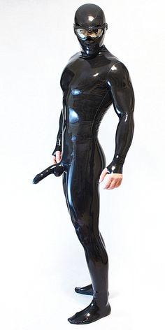 Male cat suit