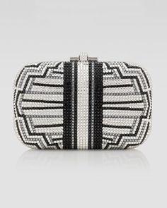 Judith Leiber Charleston Striped Clutch Bag - Bergdorf Goodman $2695.00