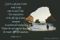 A Safe Place (Psalms 46:1-3)
