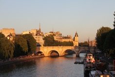 Oh to be in Paris.....Pont du Carrousel at sunset.