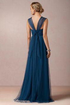 Jenny Yoo in Lapis Blue - my favorite deep shade