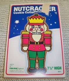 Image result for NUTCRACKER COOKIE CUTTER