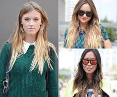 10 Spring Street-Style Hair Trends / Photos by Anthea Simms