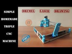 We will try to make a simple CNC machine with you. Find this and other hardware projects on Hackster. Diy Bandsaw, Diy Cnc Router, Arduino Cnc, Cnc Parts, 3d Cnc, Concrete Lamp, Cnc Projects, Milling Machine, Metal Fabrication