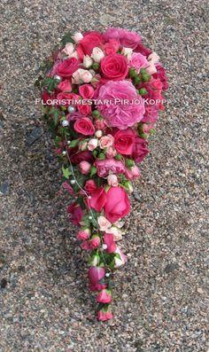 weding bouquet by Pirjo Koppi
