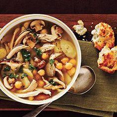 Chicken and Parsnip Soup   MyRecipes.com