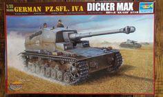 Trumpeter 1/35 WW2 German Pz.SFL. IVA Dicker Max Kit