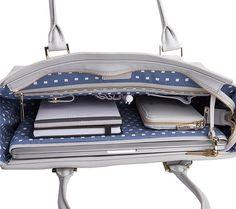 ASTRID LEATHER SHOULDER BAG CLOUD: STOCKHOLM