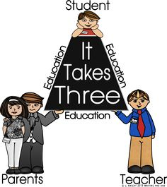 blog post {with entire series coming soon} about how it takes teachers, parents, AND students to make education work!