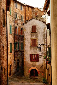 ~ PetitPoulailler.com ~ — ysvoice: Medieval Village of Anghiri, Tuscany via...