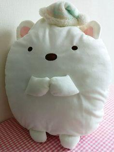 SUMIKKO GURASHI Cushion & Blancket Lap robe Shirokuma (polar bear) SAN-X KAWAII