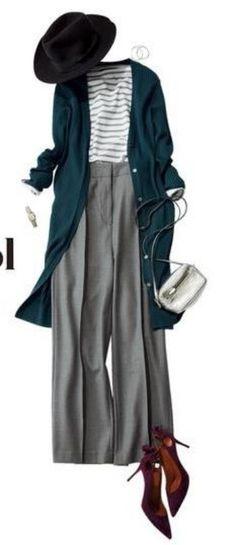 Moda anti-idade: Outfit de outono 2018