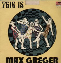 This Is Max Greger English Vinyl LP