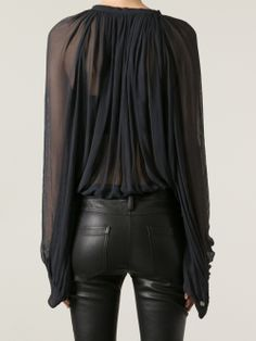 in a perfect world, leather pants would love me!