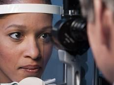 IOP also known as a pressure test, commonly used for glaucoma patients.