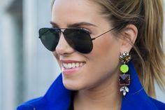 J. Crew Glass Mix Earrings