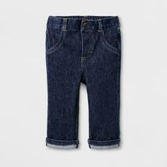 324612a422 Baby Boys' Dark Wash Skinny Jeans - Cat & Jack™ Dark Denim =