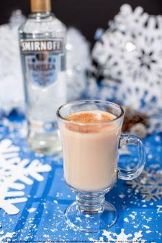 Smirnoff Grasshopper with 2 oz BAILEYS® Caramel Irish Cream Liqueur, oz SMIRNOFF® Vanilla Flavored Vodka, 3 dashes orange bitters and 3 oz chai tea. Build in a coffee mug and top with chai tea. Garnish with a pinch of vanilla sugar. Vanilla Sugar, Cocktails To Try, Cream Liqueur, Baileys Irish Cream, Winter Drinks, Smirnoff, Mixed Drinks