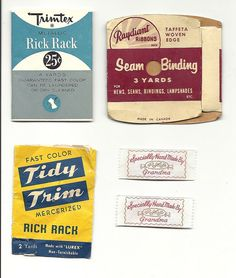 Sewing labels by greymowser2006, via Flickr