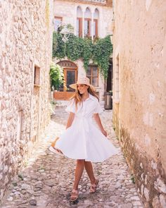 A shirtdress worth twirling in! But really this is a good one! More of this look from our day in Saint-Paul-de-Vence with @nordstrom over on galmeetsglam.com today (link in profile!) #sponsored #gmgtravels #shirtdress #summerstyle #nordstrom #dvf #france @shopstyle