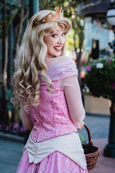 Princess Aurora at Walt Disney World, Face Character. Sleeping Beauty.