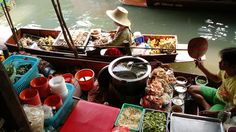 Floating Market - Bangkok - Thailand