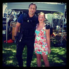 ♥♥♥♥♥  .@nicola_kate_lord   Alex and I. #bestdayever #hawaiifive-0 #biggest #fan #love #it #love #him #ha...  July 2012
