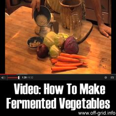 Please Share This Page: If you are a first-time visitor, please be sure to like us on Facebook and receive our exciting and innovative tutorials and info! When you think of kimchi, pickles and sauerkraut, you can't help but feel your salivary glands kick into high gear. There's something about fermented vegetables that makes everything [...]
