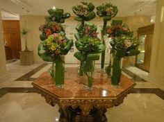 hotel lobby flowers - Google Search