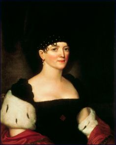 Elizabeth Kortright Monroe (1768-1830) was First Lady of the United States from 1817 to 1825, as the wife of James Monroe, fifth President of the United States, who held the office for two terms.  James, age twenty-seven, married Elizabeth, age seventeen, on February 16, 1786.