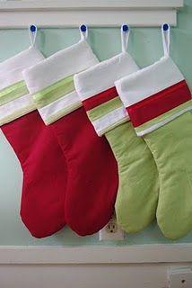 Sewn stockings