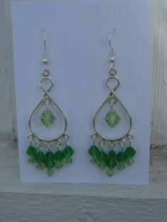 bridesmaid earrings DIY