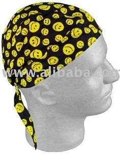 Smiley Faces Doo Rag