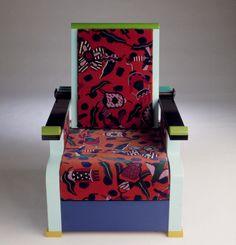 GEORGE SOWDEN B 1942 Mamounia Chair 1985 Modern