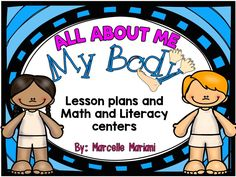 Grade - Pre-K - Kindergarten, Subject - English Language Arts - This ALL ABOUT ME-MY BODY package contains a full week of literacy and math activities that concentrate on the theme ALL ABOUT ME-MY BODY-BODY PARTS AND IS PERFECT FOR A BACK TO SCHOOL UNIT. This is the1 of 4 unitscovering the ALL ABOUT ME THEME.These lessons and tools provide:whole group instruction,small group instruction,center-station games and work,independent work and writing-art craftivities.HANDS-ON LEA...