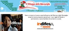 #Indifesa Mercatino di Natale 2012 Dal 1 dicembre al 6 gennaio ai Giardini di Porta Venezia MM Palestro orario 10-20