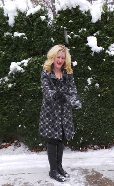 American Made Holiday: Janska Becca Coat and Hooded Scarf + $266 Giveaway