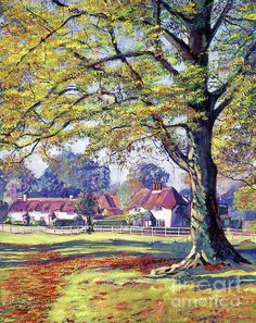 Oil Painting For Sale, Paintings For Sale, Your Paintings, Painting & Drawing, English Village, Victoria Reign, Cottage Art, David, Pre Raphaelite