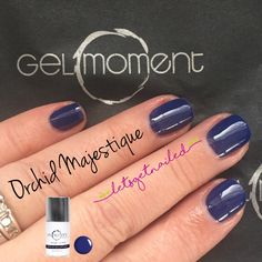 GelMoment Orchid Majestique DIY gel manicure Get Nails, Nagel Gel, Nail Colors, Colours, Jamberry Nails, Short Nails, Facebook Sign Up, Pretty Nails, Orchids