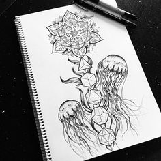 jellyfish art sketch artist on Instagram