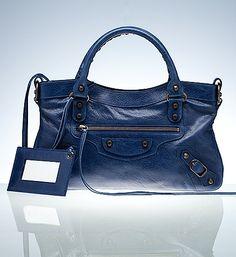 Crave, want, must have. #bag #balenciaga #blue