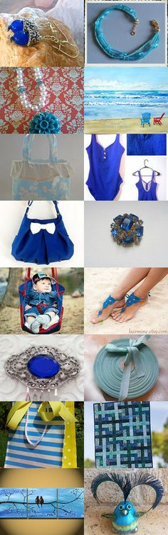 Something Blue by Pamela Olson on Etsy--Pinned with TreasuryPin.com #giftideas