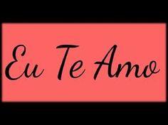 EU TE AMO EU TODO DIA TODA NOITE O MEU SONHO É VOCÊ LANÇAMENTO MAIO DE 2016 - YouTube Love Is Sweet, My Love, True Love, Romance, Youtube, Gifts, Hubby Love, Unconditional Love, Inspirational Quotes