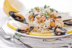 Lemon risotto with mussels by Chef Tiziano Muccitelli on 500px