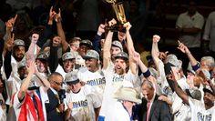 """Dallas Mavericks. """"We are the Champions!"""""""