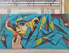 Esper Hec in Boulogne-Billancourt, France, 2019 Kristen Stewart Interview, Murals, Graffiti, Lily, France, Paris, Color, Montmartre Paris, Wall Murals