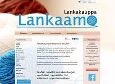 Lankakauppa Lankaamo on savonlinnalainen, iloisen palvelun käsityöliike. Uudet kotisivut toteutettiin Kotisivukoneen Avaimet käteen -palvelun avulla.