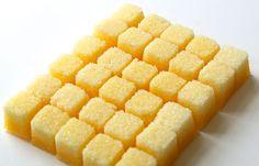 Lemon Flavored Sugar Cubes-