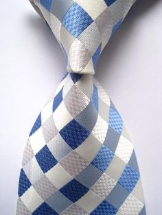 Men Plaid Woven Neck Tie