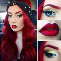 I want THIS color red! I don't know what my obsession is with RED this year, but i want it!